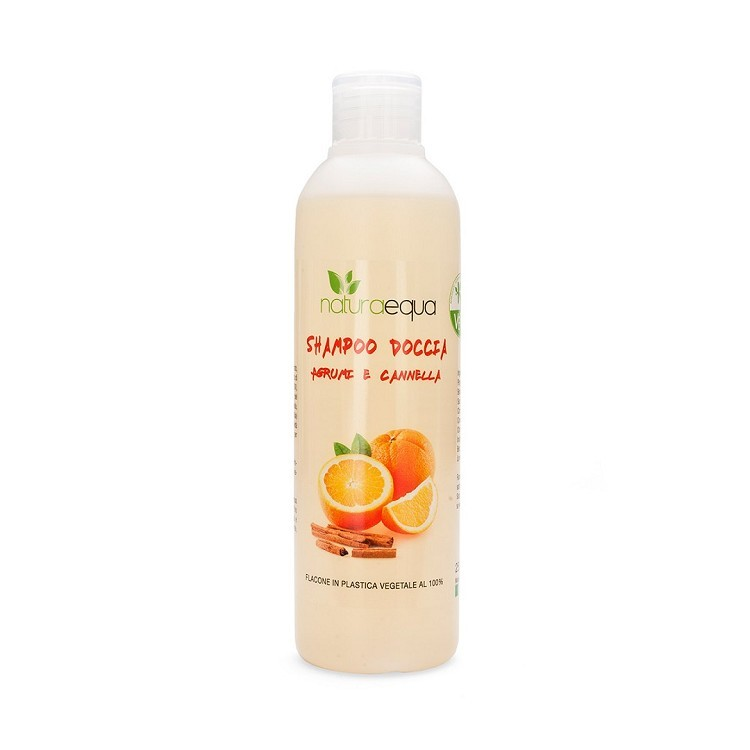 Citrus and Cinnamon Shampoo & Shower Wash - frequent use