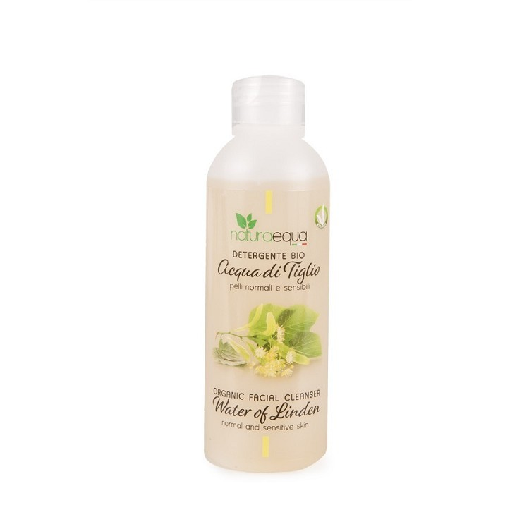 Facial Cleanser with Water of Linden – for Normal and Sensitive Skin