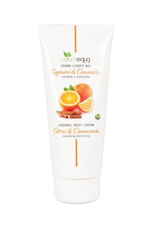 Citrus and cinnamon body cream