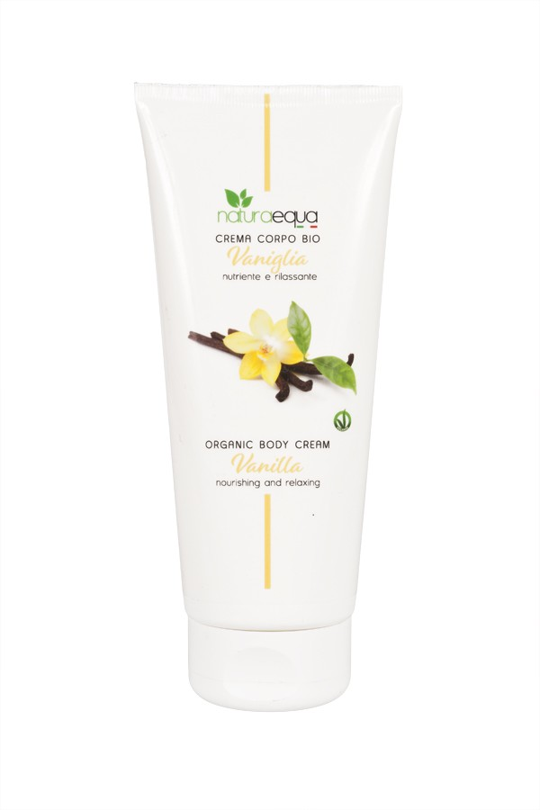 Vanilla body cream