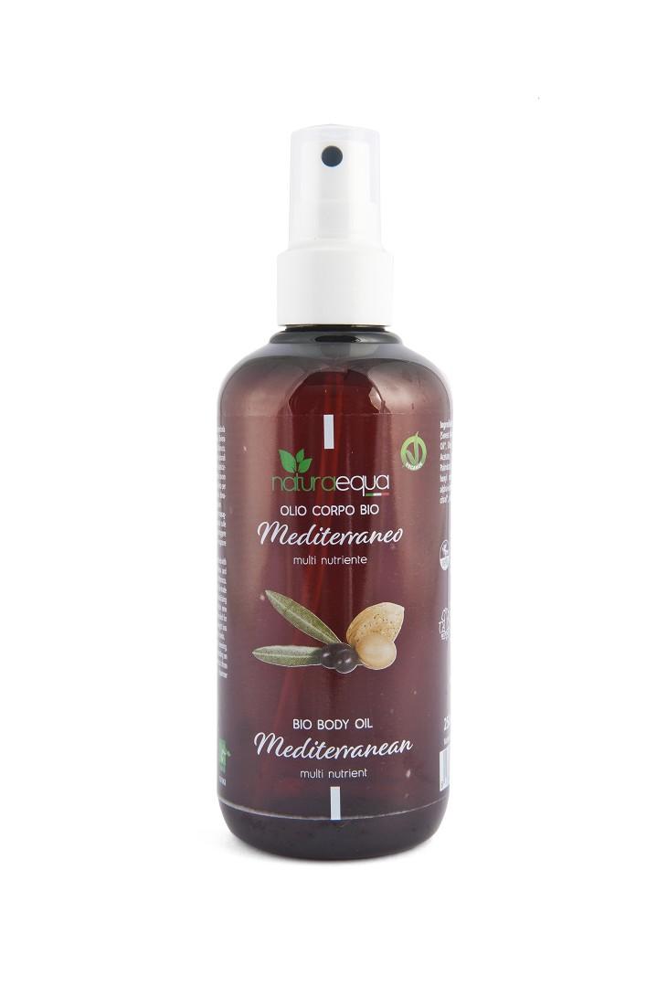 Organic mediterranean body oil